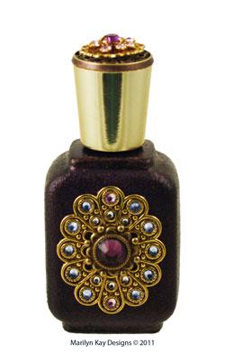 Victorian And Art Nouveau Style Perfume Bottles
